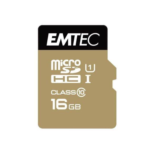 EMTEC 16 GB microSD CLASS 10 memóriakártya autós kamerákhoz
