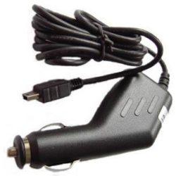 Autós kamera töltő szivargyújtó-Mini USB csatlakozással