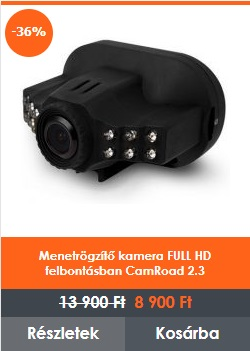 Menetrögzítő kamera CamRoad 2.3